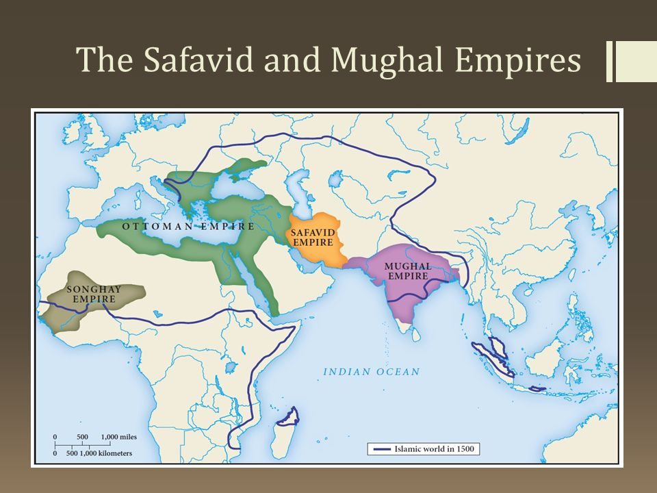 The Safavid and Mughal Empires