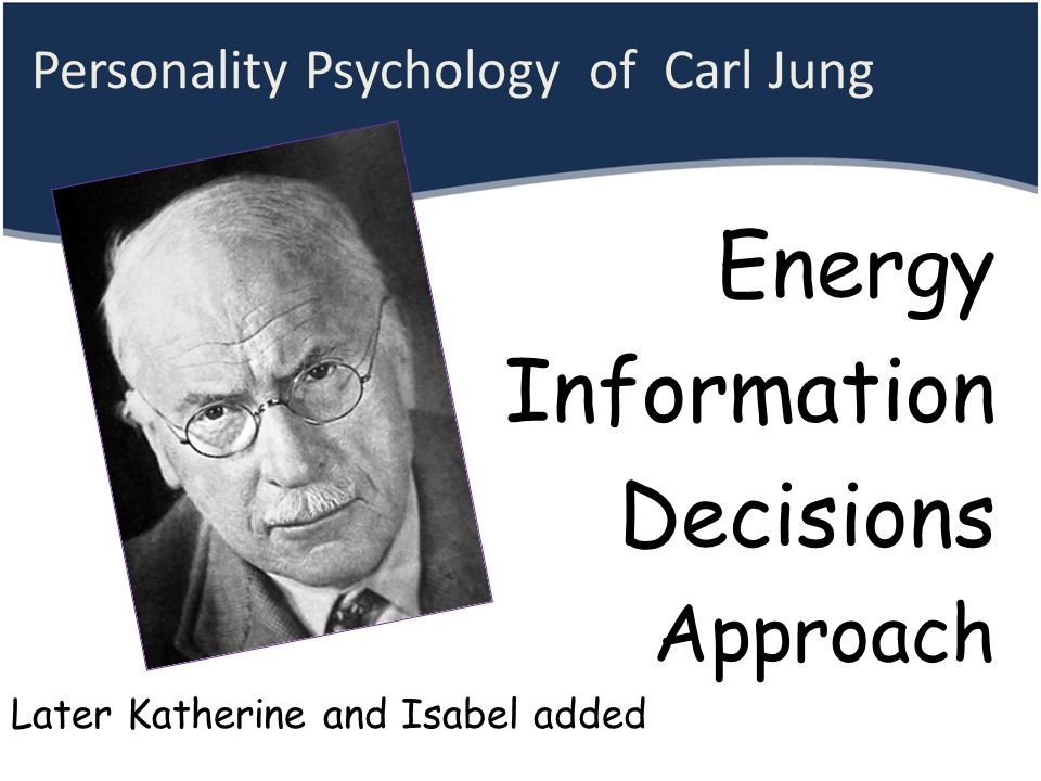 Personality Psychology of Carl Jung