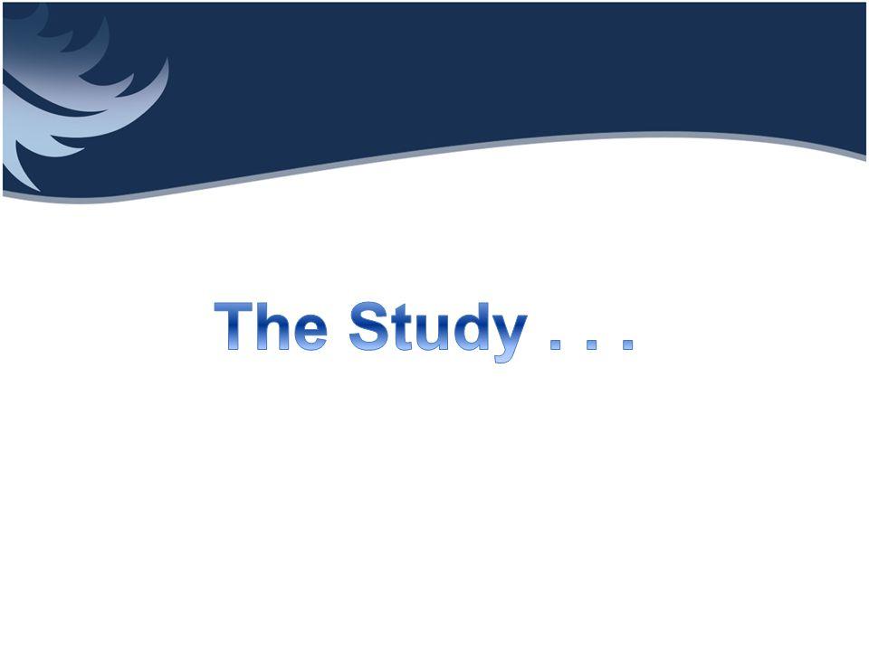 Analysis The Study . . .