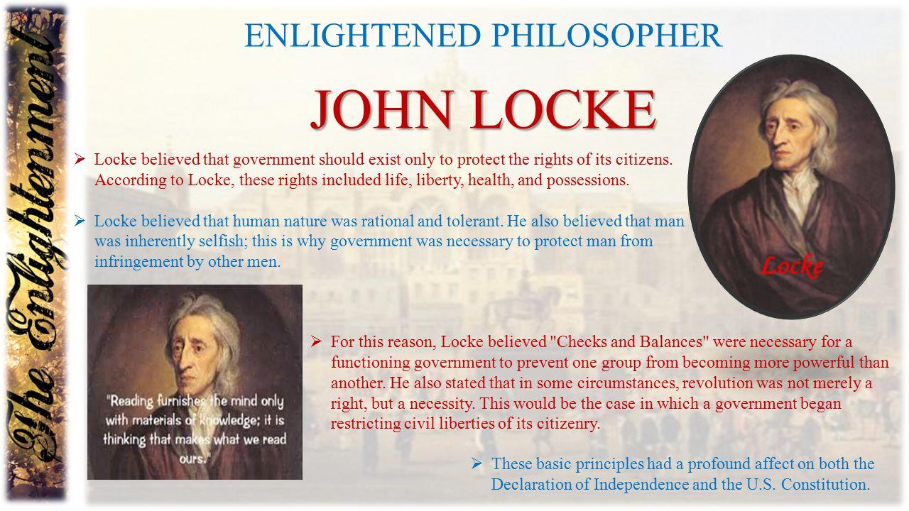 Enlightened philosopher