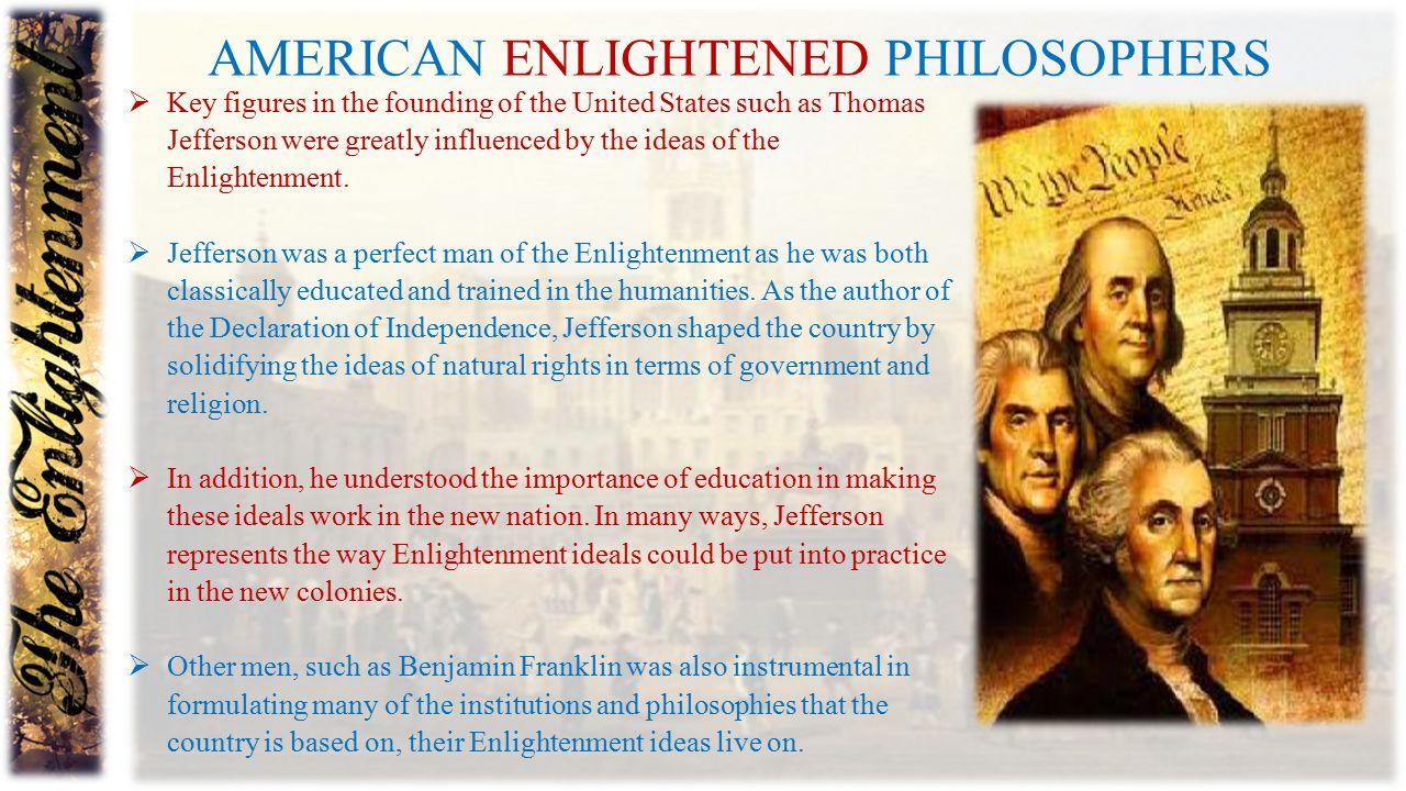 American Enlightened philosophers