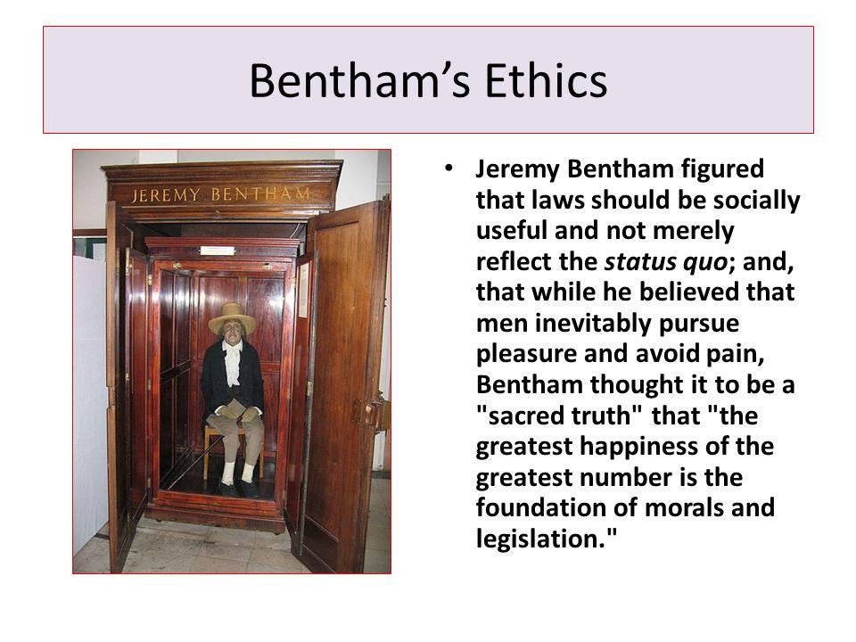 Bentham's Ethics