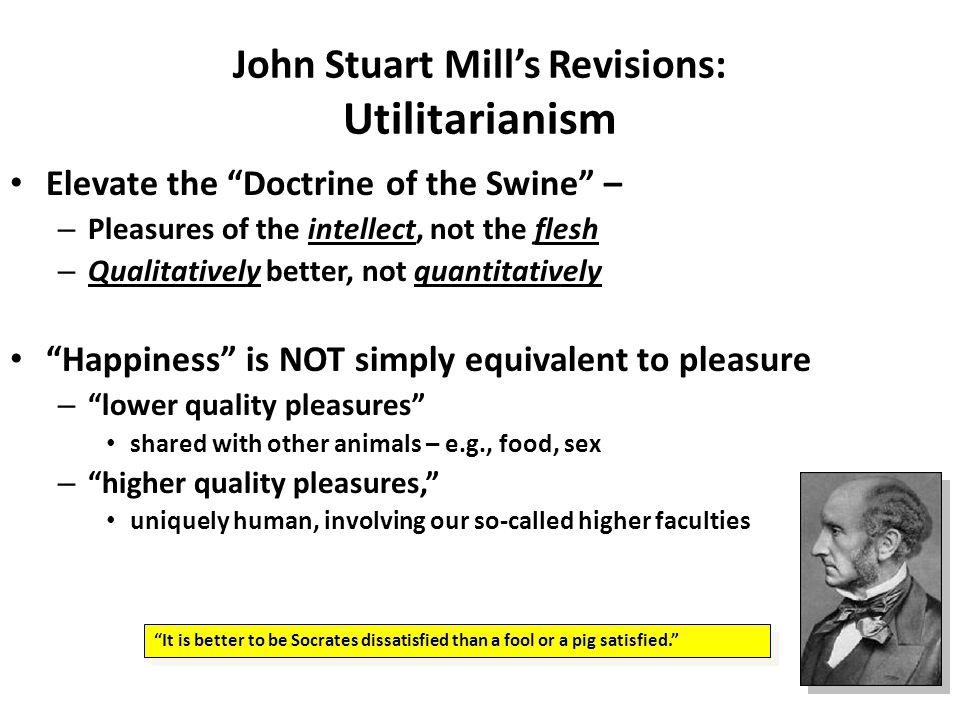 John Stuart Mill's Revisions: Utilitarianism