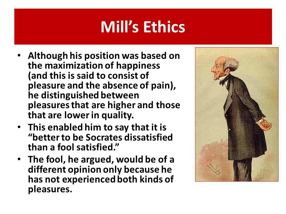 Mill's Ethics