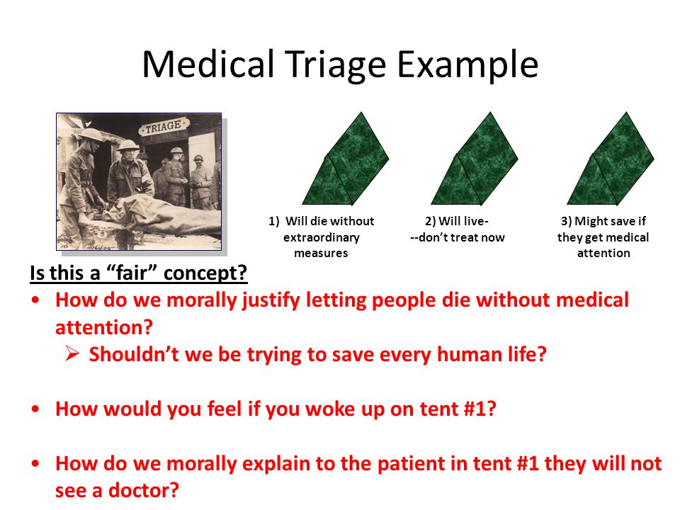 Medical Triage Example