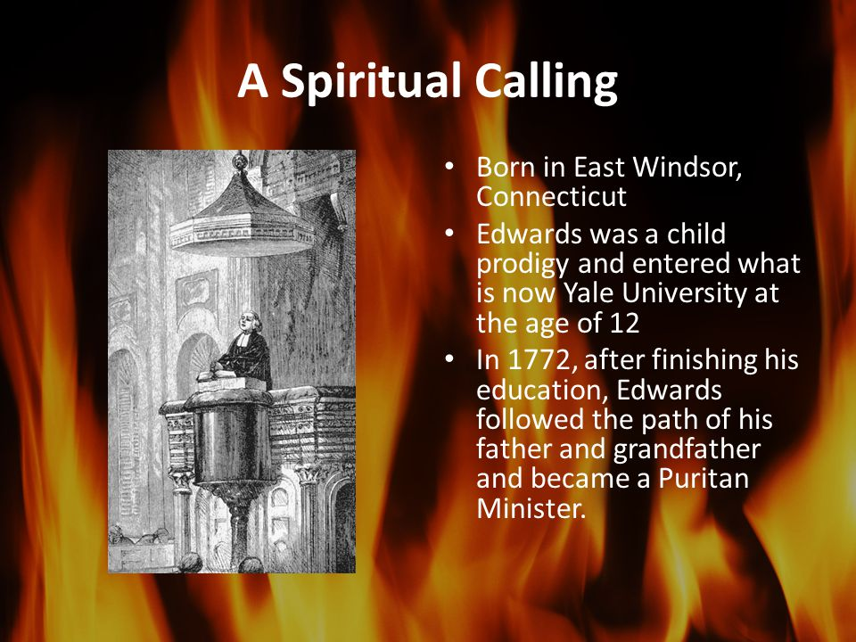 A Spiritual Calling Born in East Windsor, Connecticut