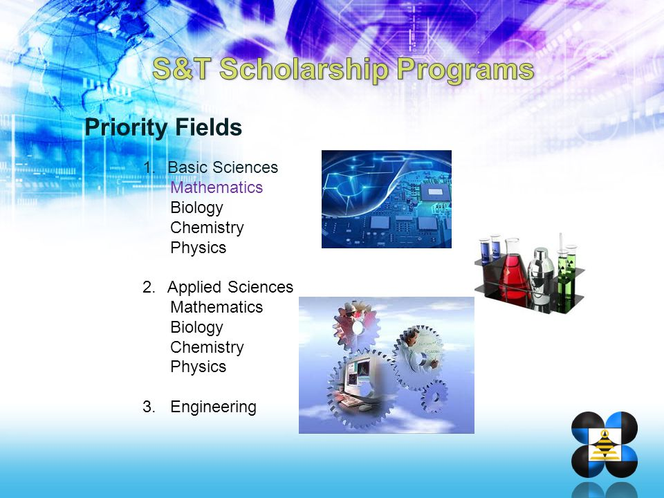 S&T Scholarship Programs