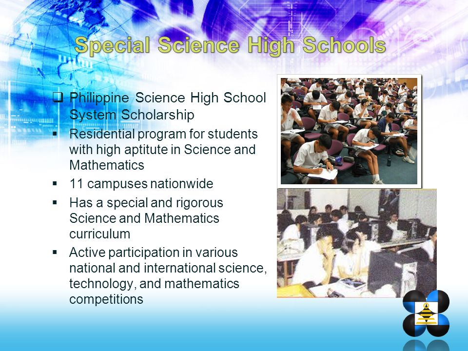 Special Science High Schools