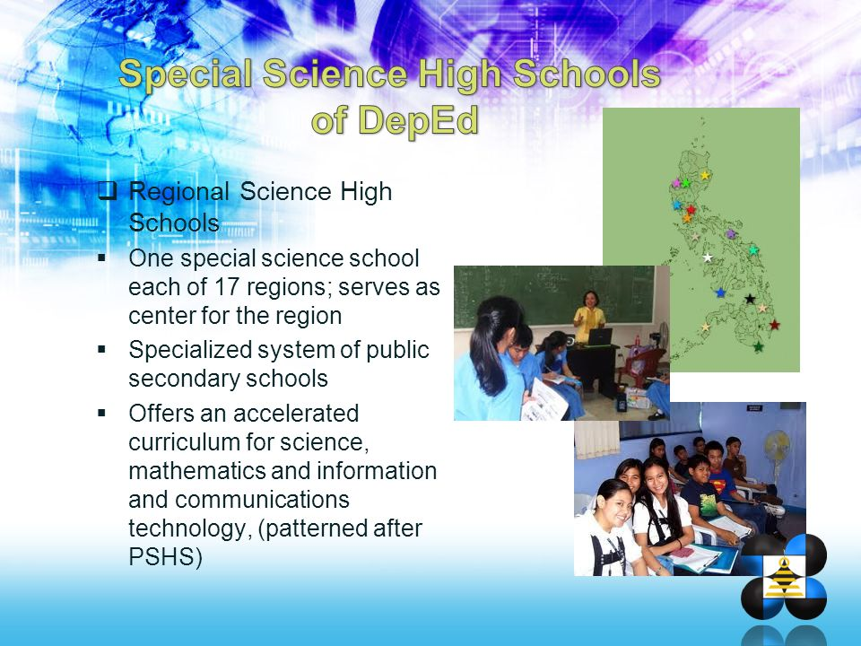 Special Science High Schools of DepEd