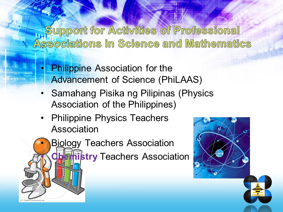 Support for Activities of Professional Associations in Science and Mathematics