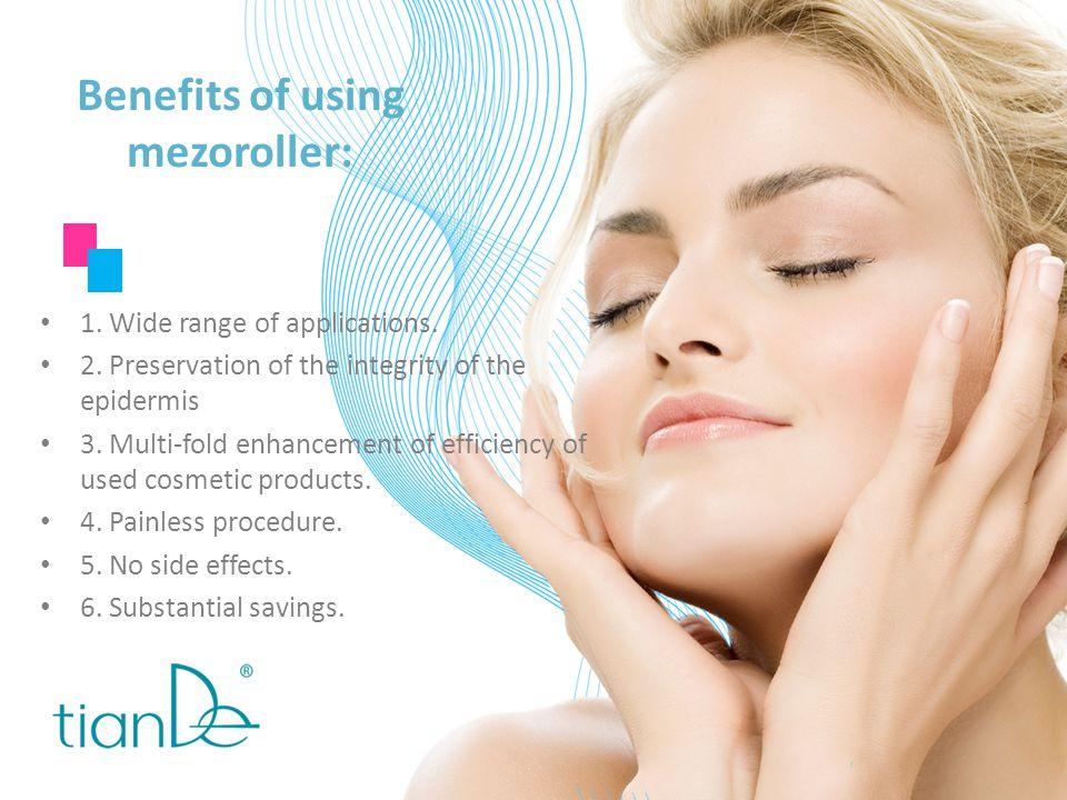 Benefits of using mezoroller: