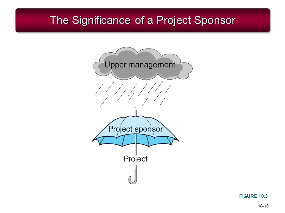The Significance of a Project Sponsor