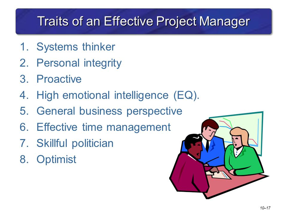 Traits of an Effective Project Manager