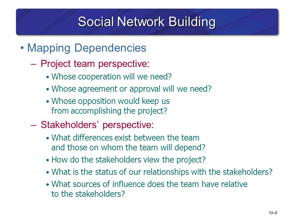 Social Network Building