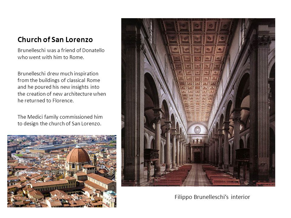 Filippo Brunelleschi's interior