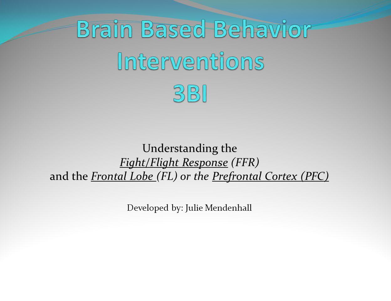 Brain Based Behavior Interventions 3BI