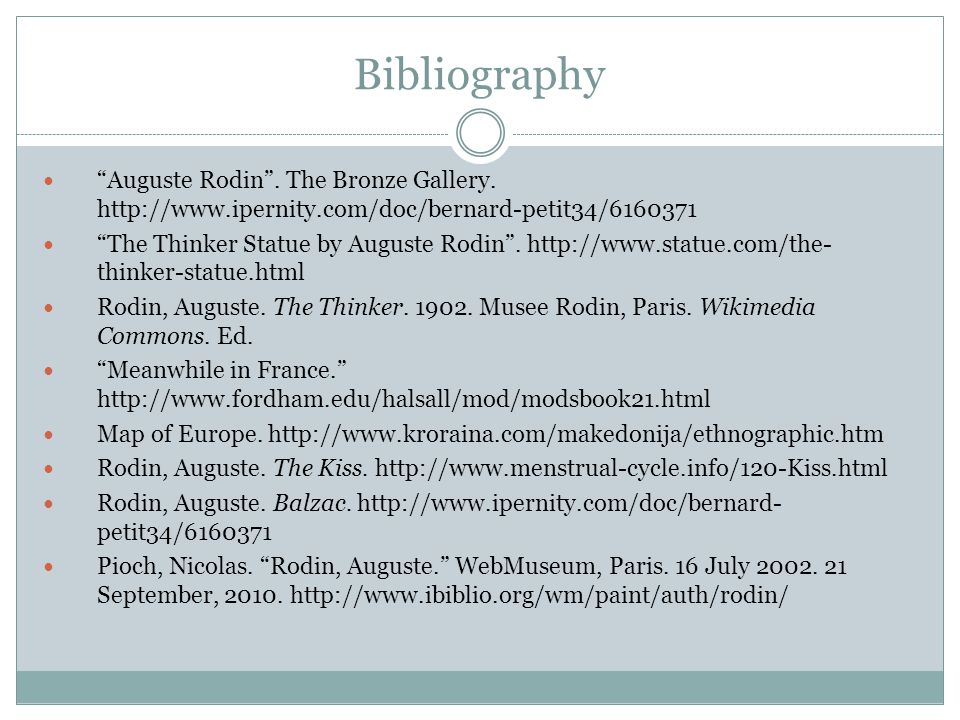 Bibliography Auguste Rodin . The Bronze Gallery. http://www.ipernity.com/doc/bernard-petit34/6160371.