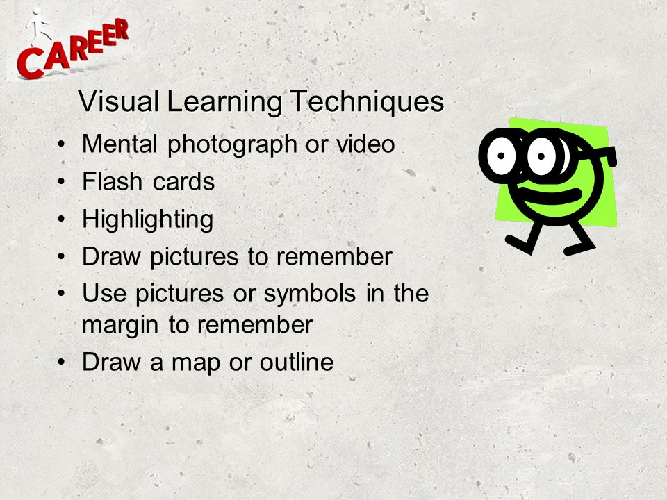 Visual Learning Techniques
