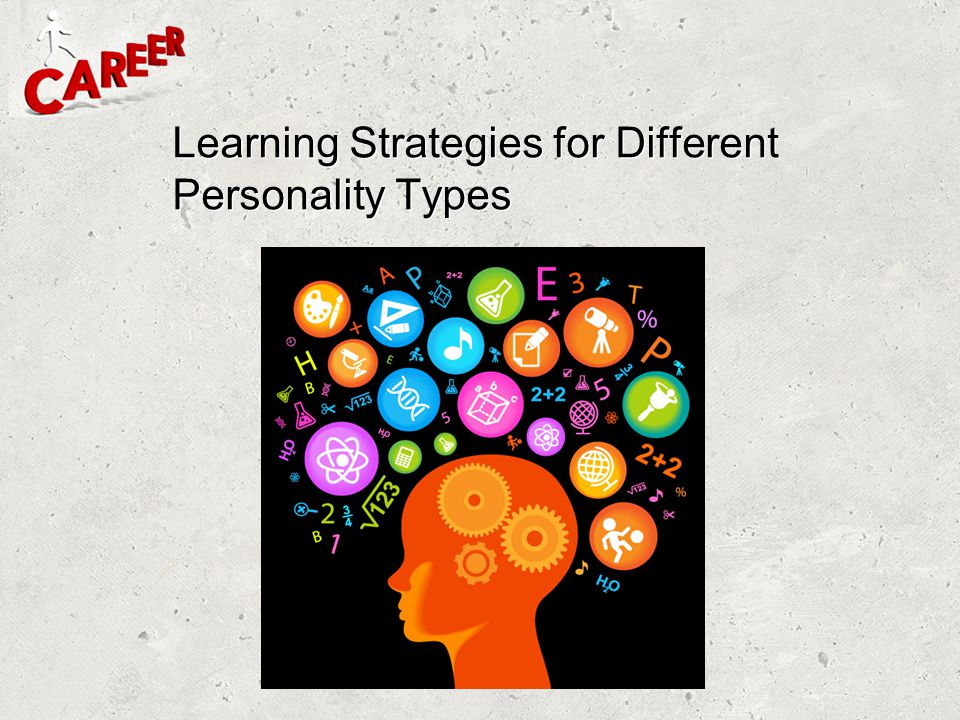 Learning Strategies for Different Personality Types