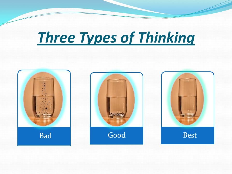 Three Types of Thinking