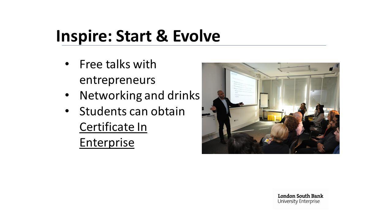 Inspire: Start & Evolve
