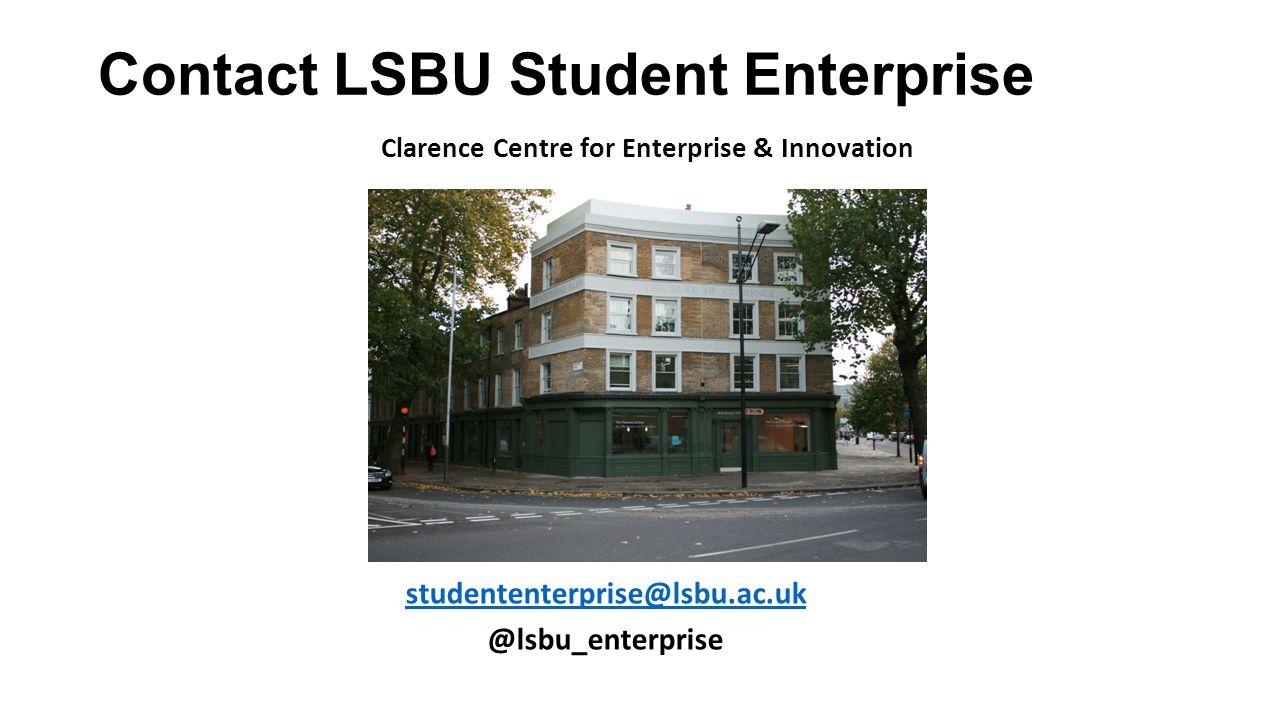 Contact LSBU Student Enterprise