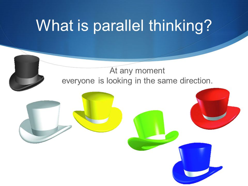 What is parallel thinking