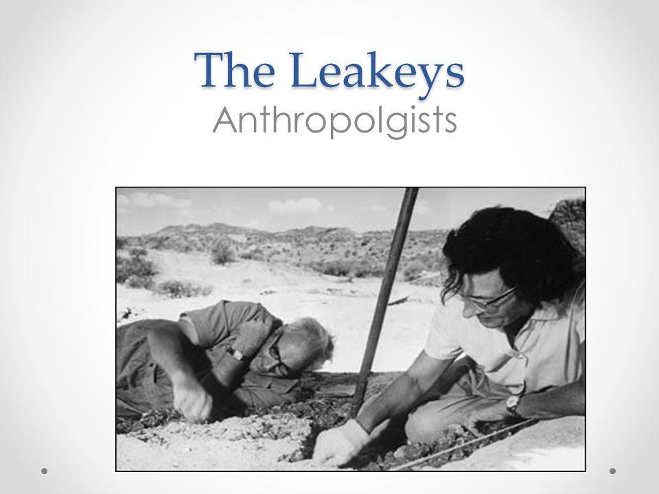 The Leakeys Anthropolgists