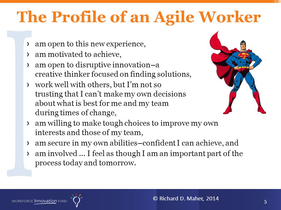 The Profile of an Agile Worker