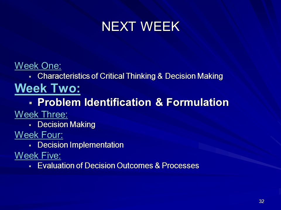 logical and rational thinking problem identification One common approach divides the types of thinking into problem  problem identification  freely and without any rigid rational or logical.