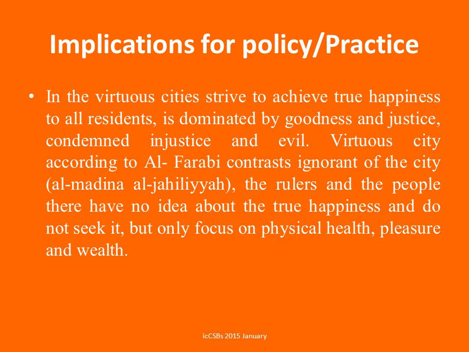 Implications for policy/Practice