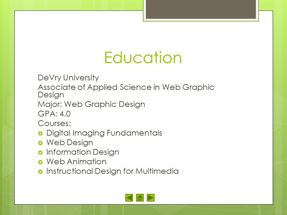 Education DeVry University
