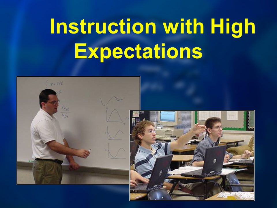 Instruction with High Expectations