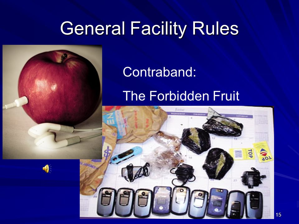 General Facility Rules