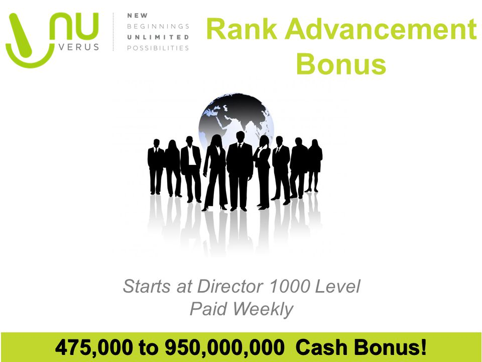 Rank Advancement Bonus