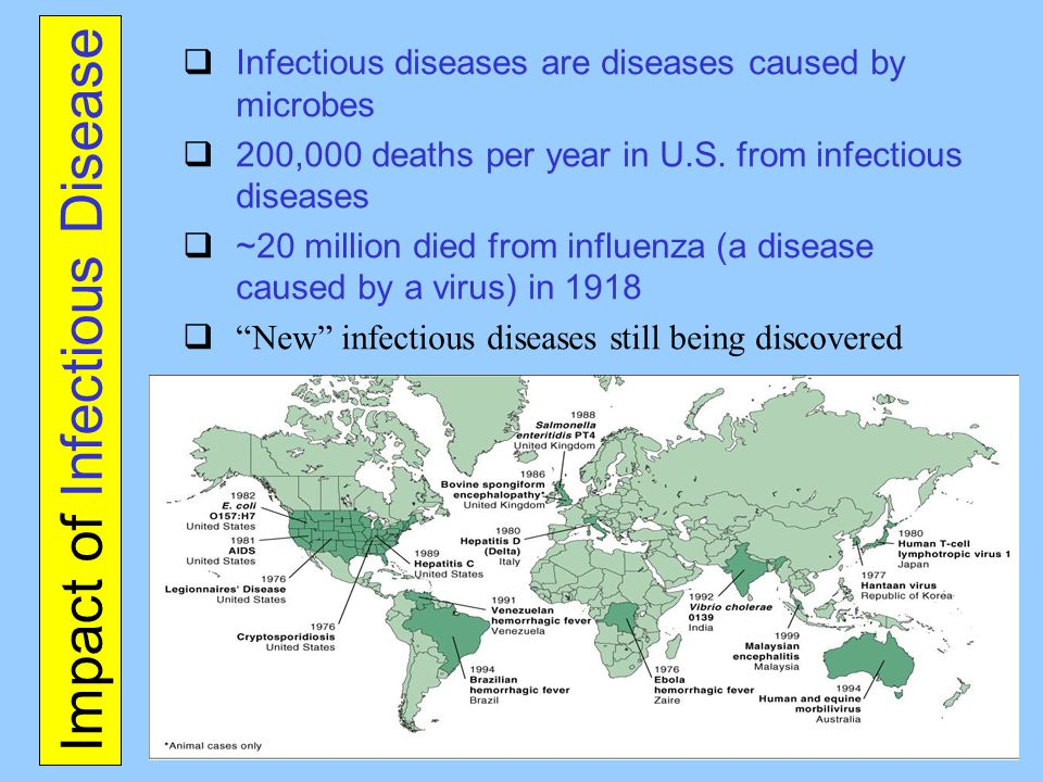 Impact of Infectious Disease