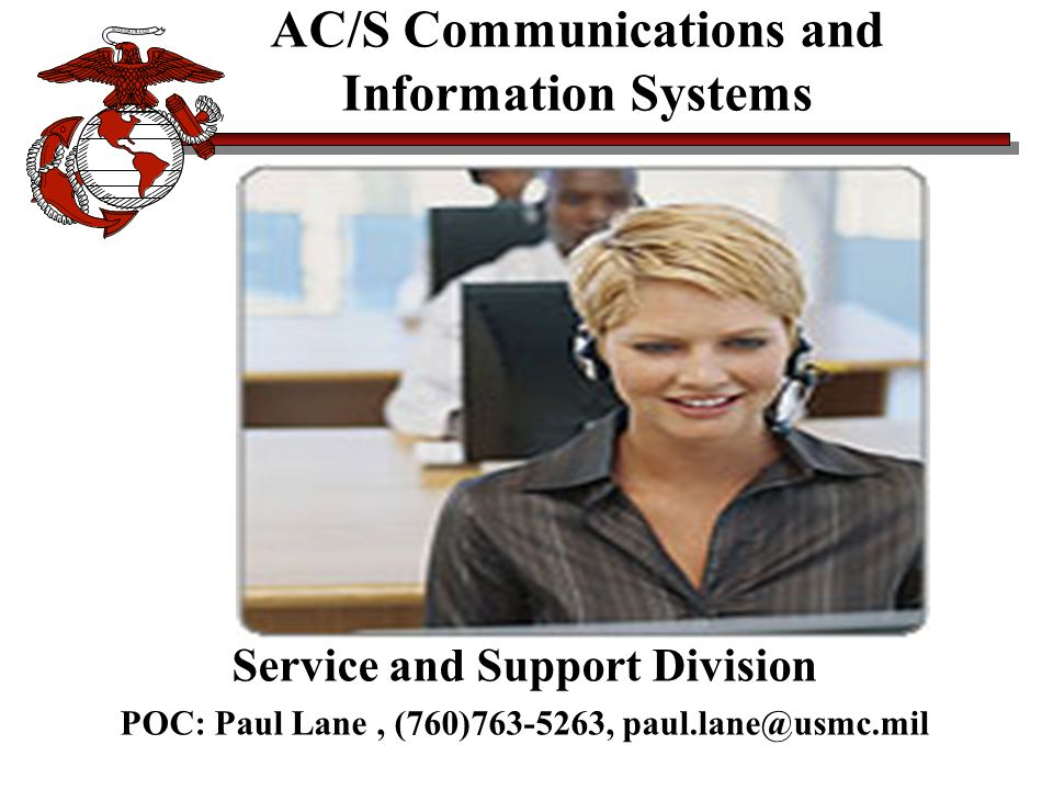 AC/S Communications and Information Systems