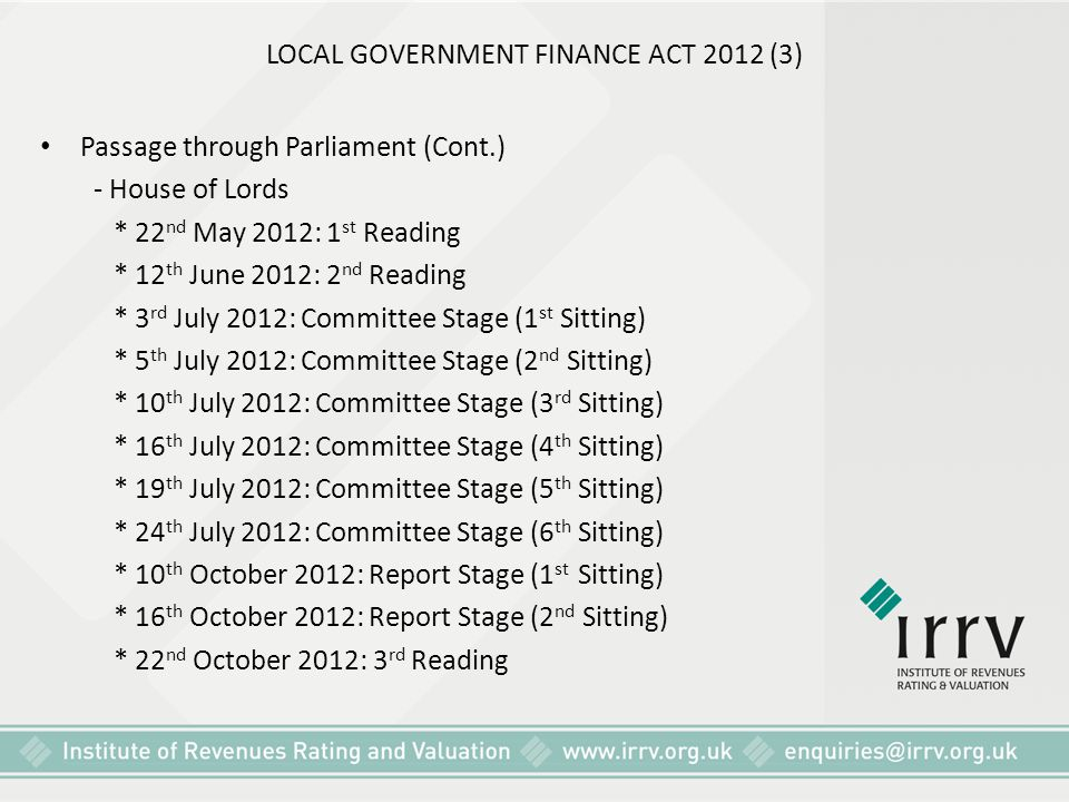 LOCAL GOVERNMENT FINANCE ACT 2012 (3)