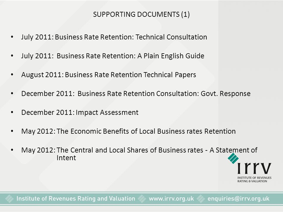 SUPPORTING DOCUMENTS (1)