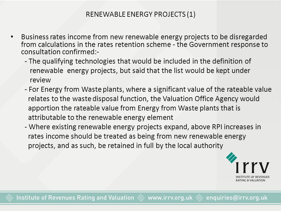RENEWABLE ENERGY PROJECTS (1)