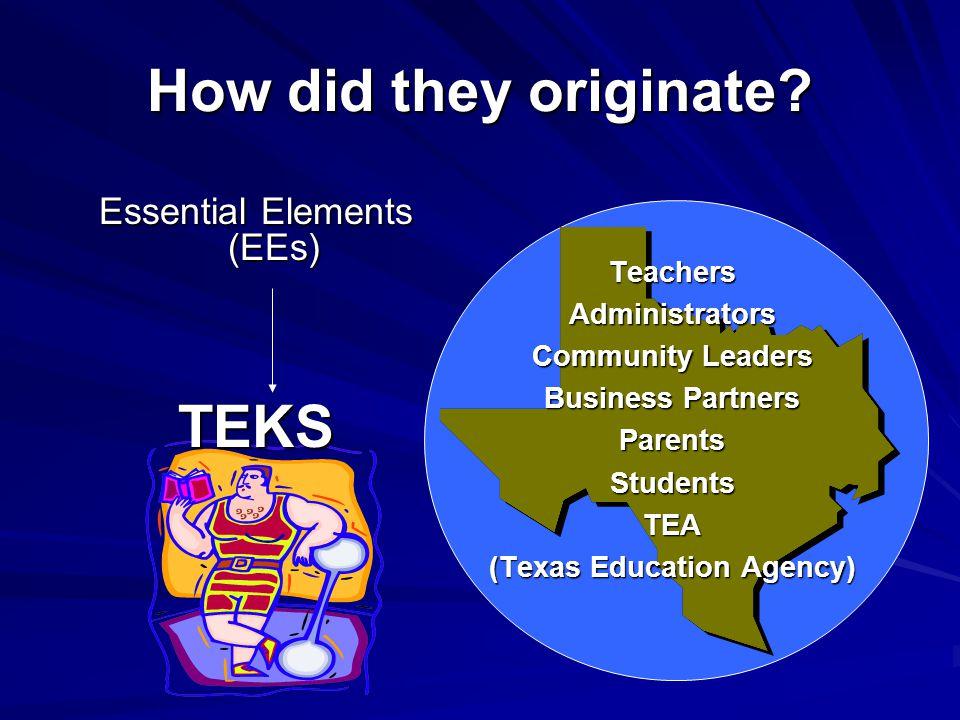 (Texas Education Agency)
