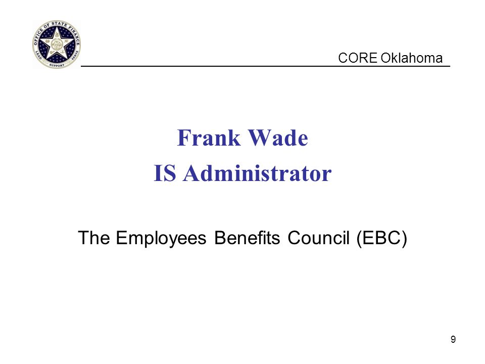 The Employees Benefits Council (EBC)