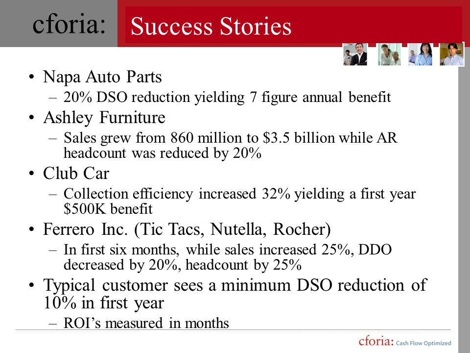 Success Stories Napa Auto Parts Ashley Furniture Club Car