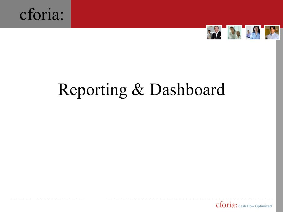 Reporting & Dashboard