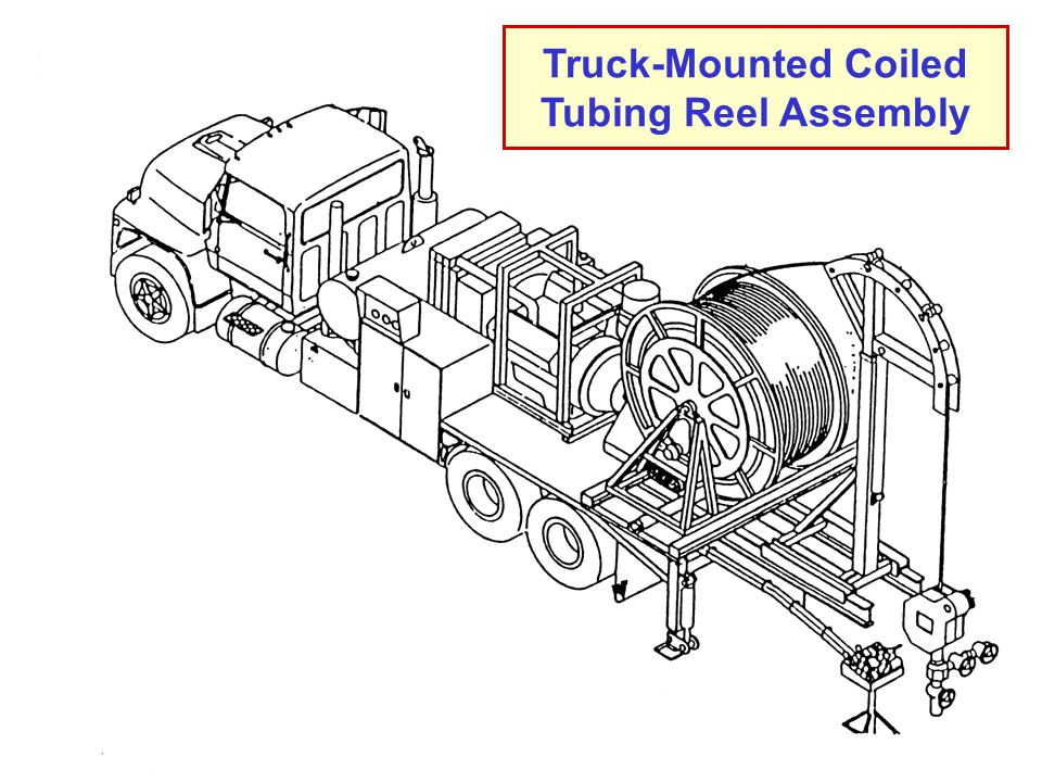 Truck-Mounted Coiled Tubing Reel Assembly