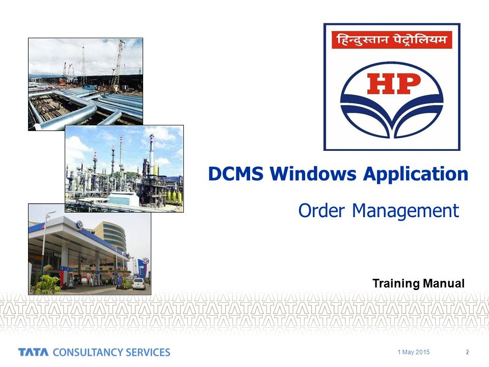 DCMS Windows Application