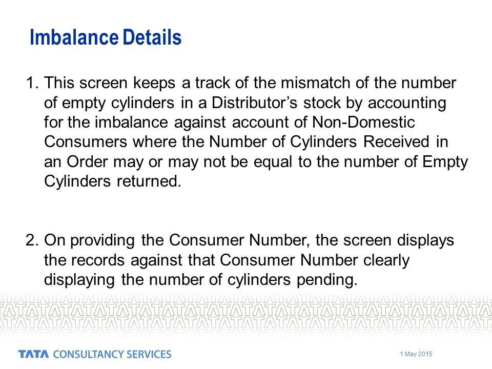 Imbalance Details