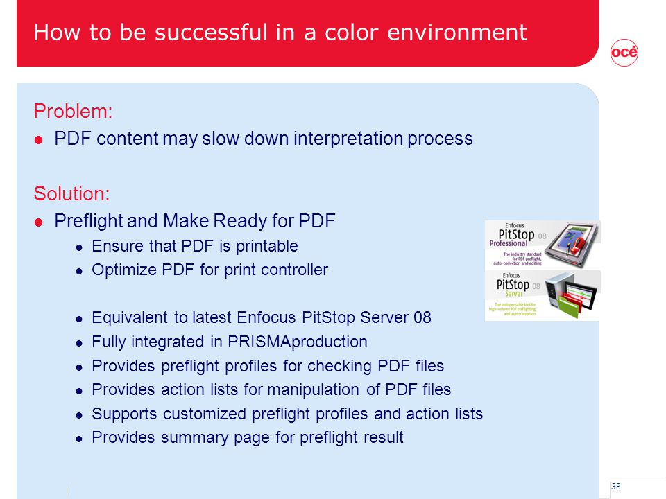 How to be successful in a color environment
