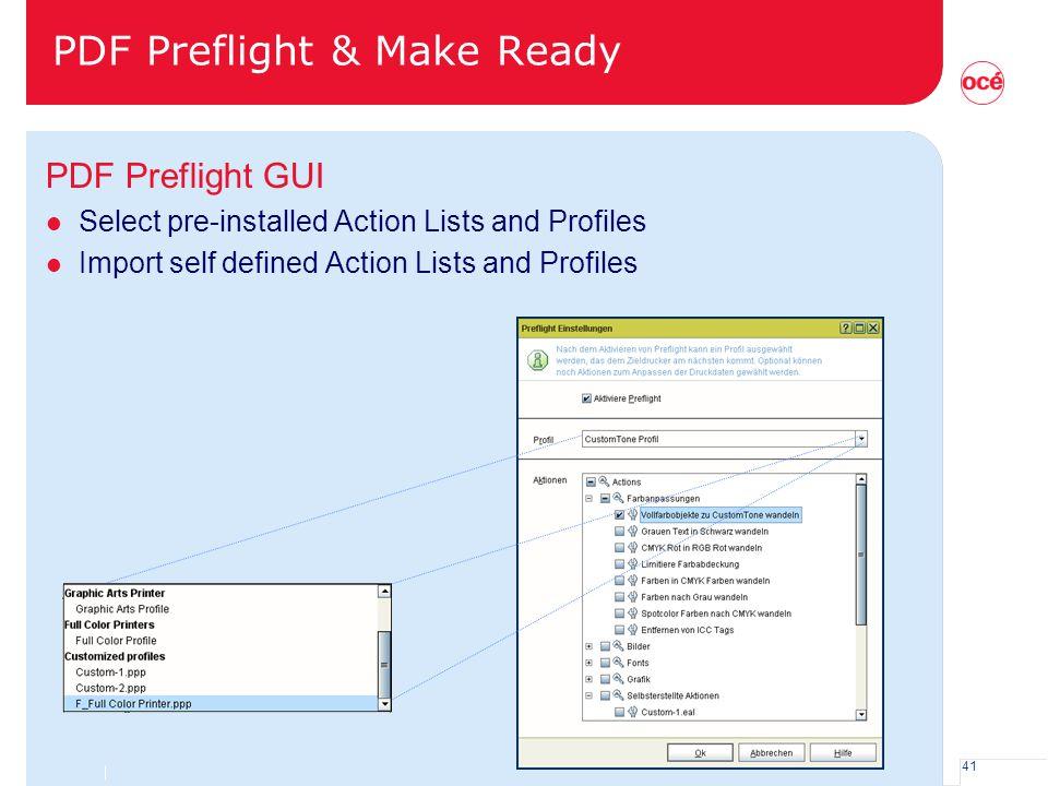 PDF Preflight & Make Ready