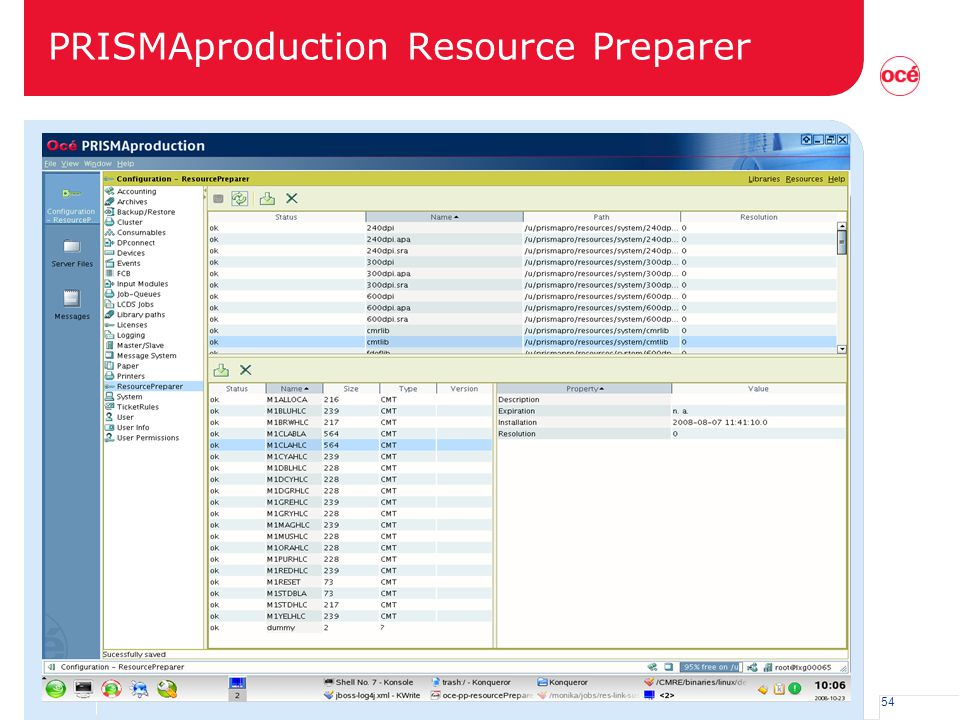 PRISMAproduction Resource Preparer